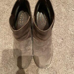 Kork-Ease Shoes - Brown Suede Booties